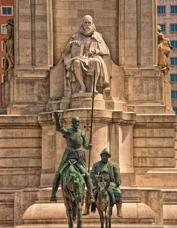 Cervantes, Quijote, Sancho